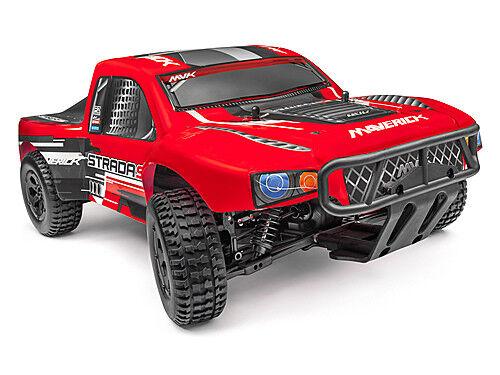 bienvenido a orden HPI HPI HPI Maverick Strada SC ROJO SIN ESCOBILLAS corto Curso Camión RTR RC Coche MV12625  muchas sorpresas