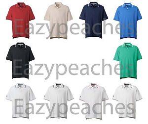 ADIDAS-Golf-Tennis-Mens-Size-S-XL-2X-3XL-CLIMALITE-Tour-Jersey-POLO-Sport-Shirts