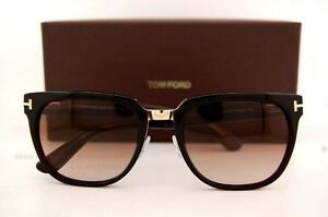 827407e4ef Brand New Tom Ford Sunglasses TF 0290 290 Rock 01F Black Brown ...