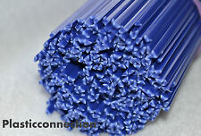 PP Plastic welding rods 3mm blue, pack of 10pcs -triangular shape