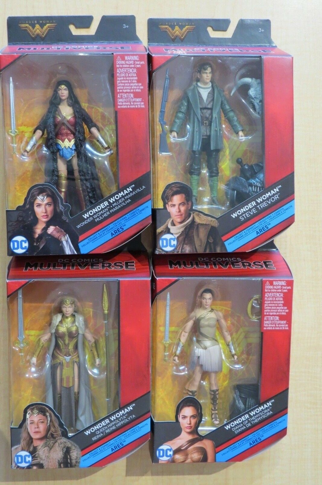 Dc comics multiversum wonder woman action - figur viel mit ares