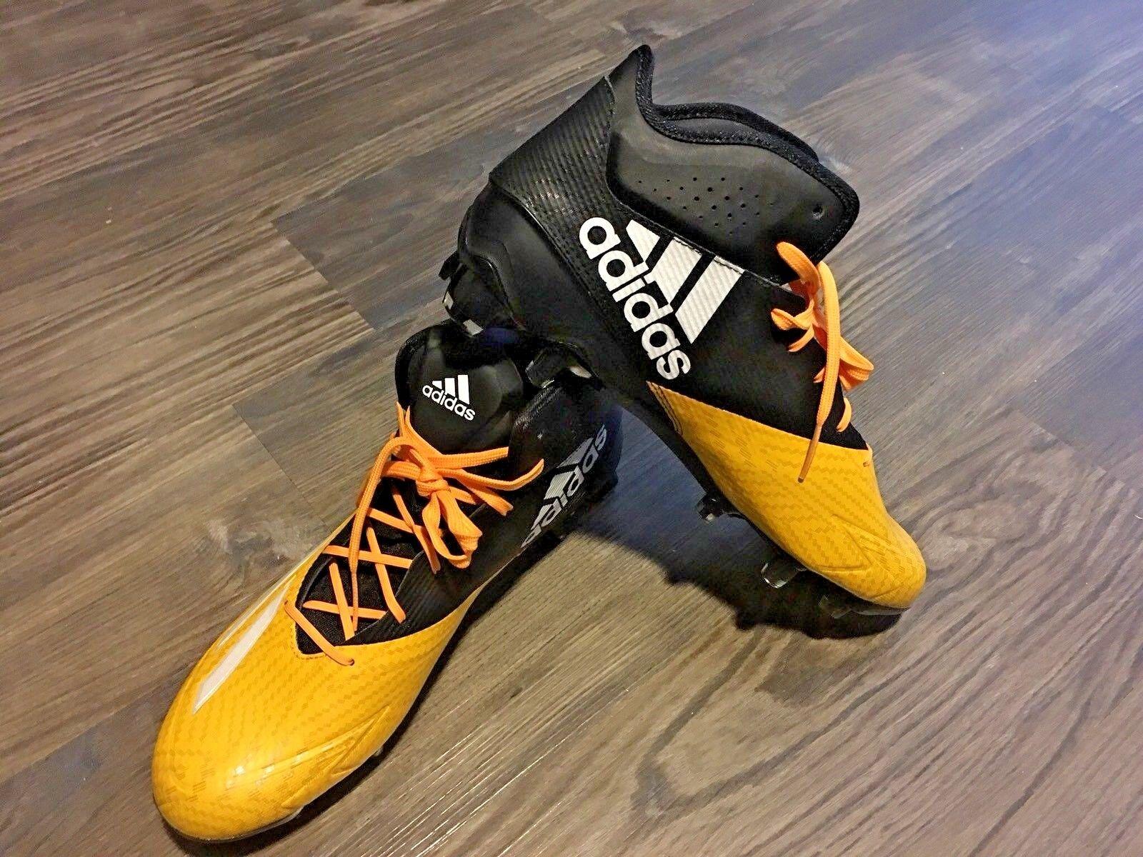 Adidas adizero 5 - sterne - 5,0 - stollen schwarz sz - gelb mitte der sz schwarz 11,5 mens q16077 698dbb