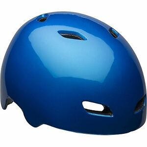 Bell Glossy Blue Adult Manifold Bike Helmet Complies W Cpsc Safety