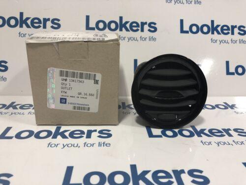Genuine Vauxhall Corsa D Gloss Black Dash Heater Air Vent Outer// Centre 13417363