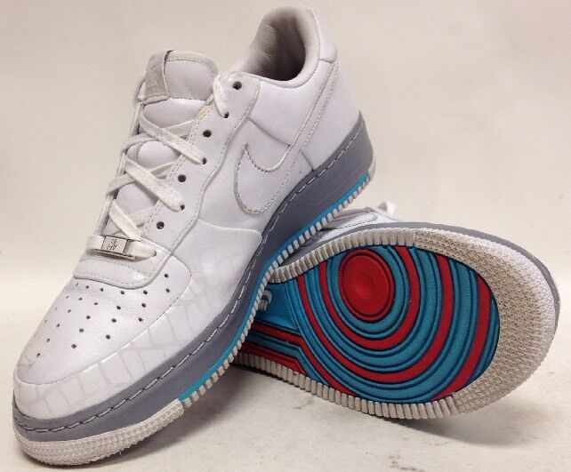 Size 10.5 Uomo Nike Air Force 1 1 Force Supreme '07 (316077 111) Pre