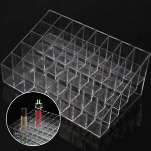 Makeup-40-Lipstick-Clear-Acrylic-Display-Storage-Rack-Holder-Cosmetic-Container