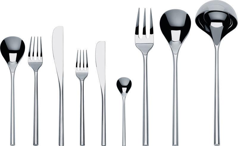 Alessi cuisine table design moderne service couverts  MU  75 morceaux ti04s75