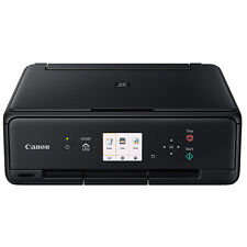 'Canon PIXMA TS5020 Wireless Color Photo Printer with Scanner & Copier (Black)' from the web at 'https://i.ebayimg.com/images/g/D~EAAOSwuMZZI3ub/s-l225.jpg'