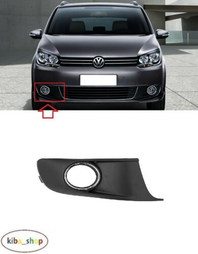 VW TOURAN 2010-2015 FRONT BUMPER FOG LIGHT LAMP GRILLE CHROME RIGHT O//S DRIVER