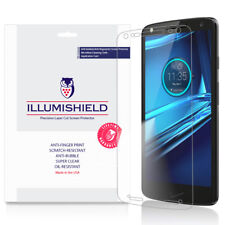 iLLumiShield Screen Protector W Anti-bubble/print 3x for Motorola Droid Turbo 2