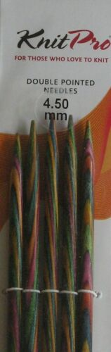KNITPRO Symfonie Wood Double Pointed Sock Needles ~ 10cm 15 cm /& 20 cm Lengths