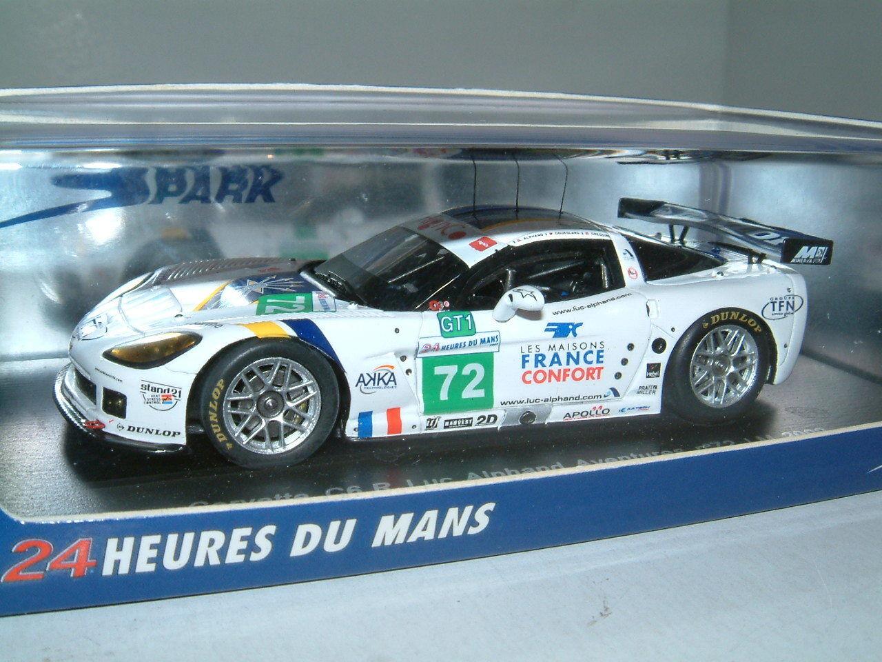 basta comprarlo 1 43 SPARK SPARK SPARK Chevrolet Corvette C6.R LMGT 1, ALPHe, 2009 le uomos.  72.  vendita di fama mondiale online