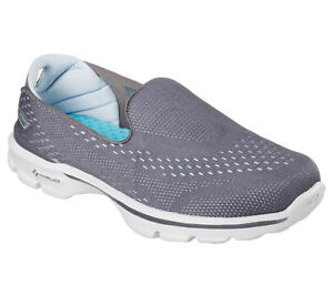 3 Walk On Scarpe Dominate Donna Grigio Go Mocassino Ccbl 14050 W Skechers Slip FqFtzHpwU