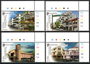 Singapore-1560-1563-MNH-Historical-Places-in-singapore-2012