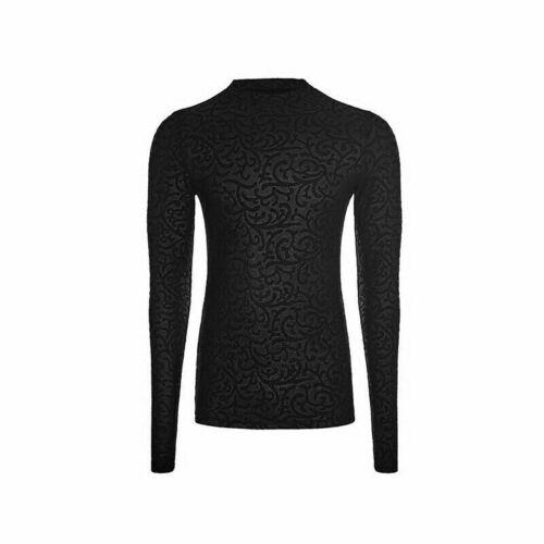 Gothic Men/'s Printing Cool Personality black T-shirt Rock popular Top T-shirts