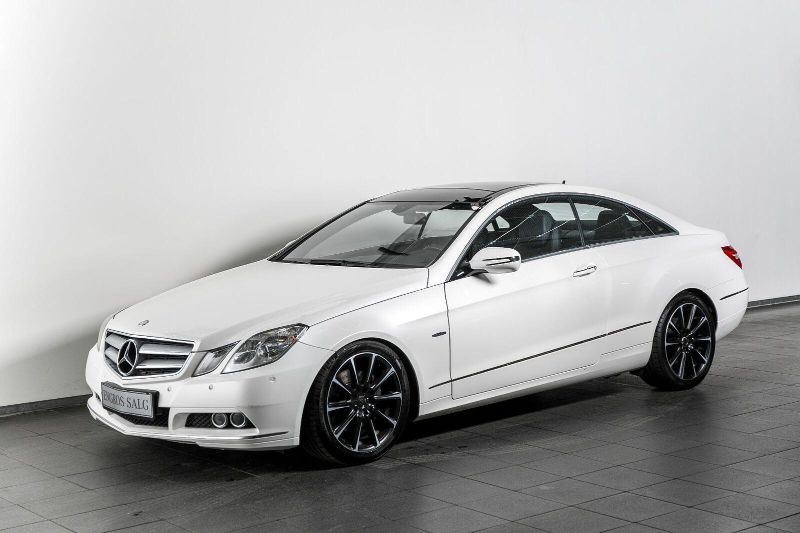 Mercedes-Benz E350 3,0 CDi Coupé aut. BE