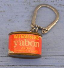 Porte-clé Yabon des années 1960, boîte de gâteau de riz