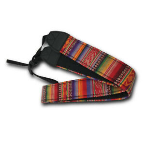 Vintage-Soft-Camera-Neck-Shoulder-Belt-Strap-For-DSLR-Digital-SLR-Color