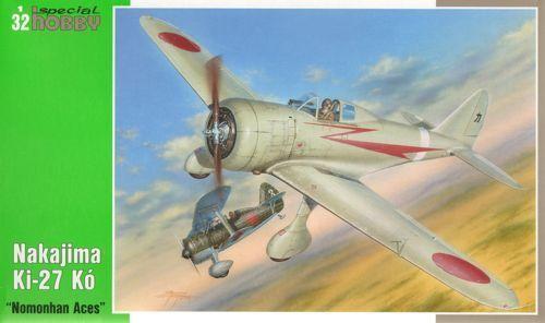 Special Hobby 1 32 Nakajima Ki-27 Nate Nomonhan Aces
