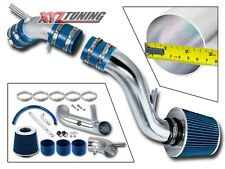 "2.75"" BLUE Cold Air Intake Kit System + Filter For 97-01 Tiburon 1.8L/2.0L L4"