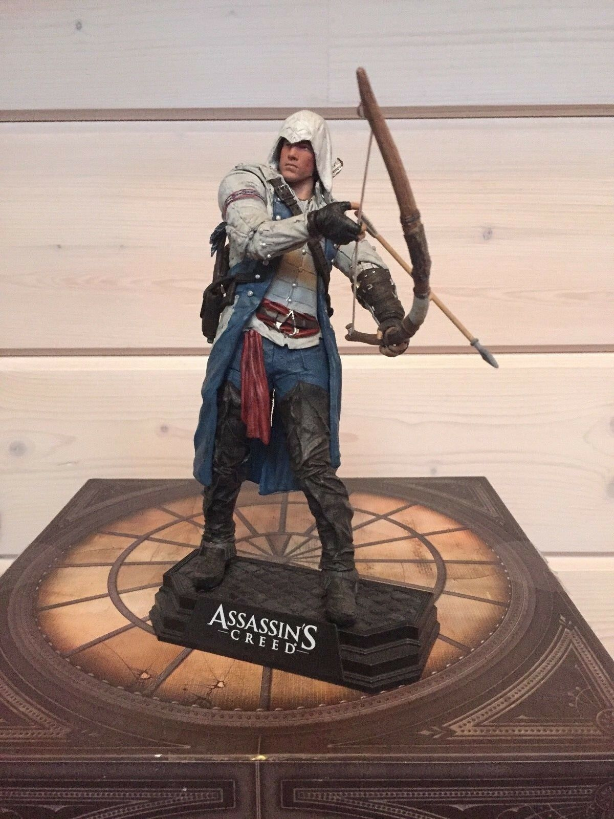 Mcfarlane spielzeug assassin 's creed connor 7  - statue finden