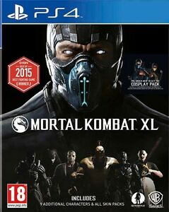 Mortal-Kombat-XL-PS4-BRAND-NEW-SEALED-UK-OFFICIAL