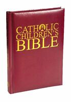 Catholic Children's Bible Burgundy Leatherette Sku Vc718