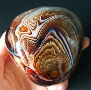 TOP-279G-Natural-Polished-Banded-Agate-Crystal-Madagascar-Healing-WA640