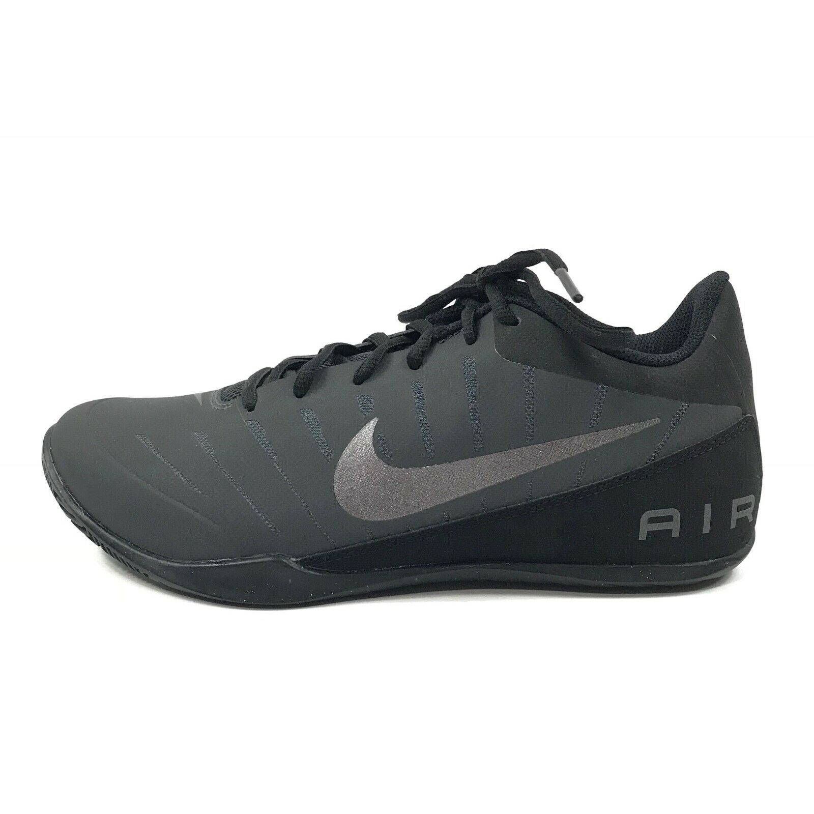 Nike Mens Air Marvin Low 2 Basketball shoes shoes shoes Anthracite Black Sz 7.5 830368-003 f90cd4