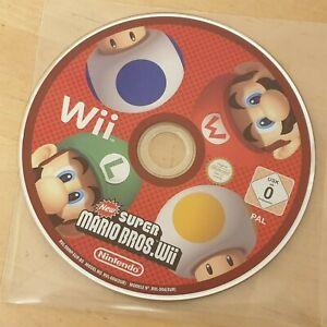 New-Super-Mario-Bros-Nintendo-Wii-2009-Disque-Seulement