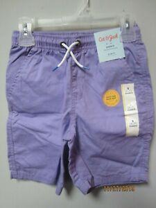 Choice of Size Cat /& Jack Shorts Girls Infant Blue Cotton Drawstring