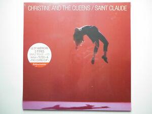 Christine-And-The-Queens-vinyle-rouge-25cm-CD-Saint-Claude