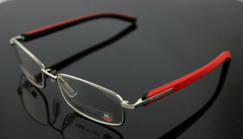 NEW Authentic TAG Heuer Trends Rouge Noir EyeGlasses Frame TH 8008 005 5517 140