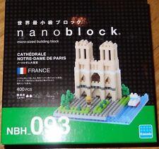 Cathedrale Notre-Dame De Paris Nanoblock Micro-Sized Building Block Micro Brick