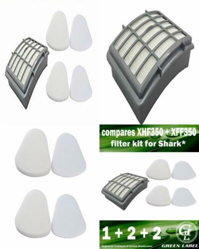 Foam and Felt Filter for Shark Navigator NV UV Series Deluxe Vacuum 2 Pieces New