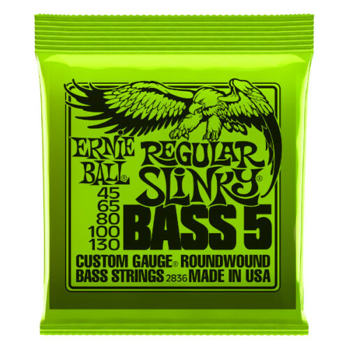 .045-.130 5-Saiter E-Bass Saiten ERNIE BALL EB2836 Regular Slinky Bass 5