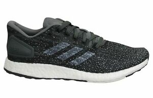 rechazo si Huelga  Adidas Sports Performance PureBoost DPR Black Mens Running Trainers B37787  | eBay