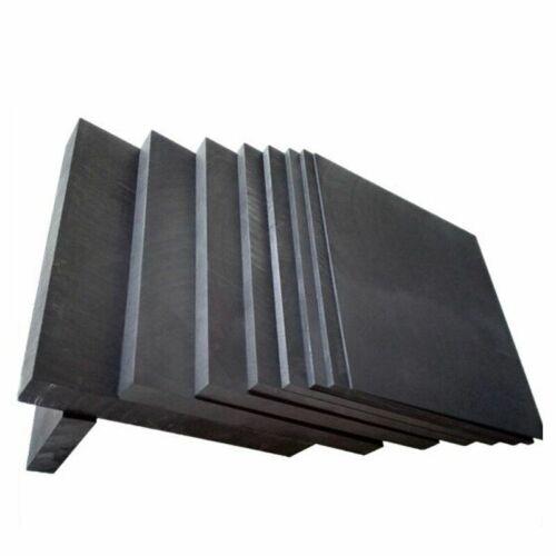 Carbon Graphite 5pcs Plates Black Sheet Anode Plate For Electrode Electrolysis