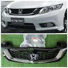 JDM 2014 Honda Civic FB EX SI Sedan Front Bumper Hood Radiator Grille Fits11-15