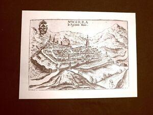 Antica-veduta-della-citta-di-Nocera-Incisione-del-1616-Ristampa