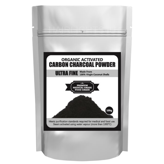 Ultra Fine Activated Carbon Charcoal Powder Organic Coconut Shell Premium Bakery