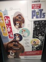 The Secret Life Of Pets Children Band-aids 20 In Pack 3 Motives Bandages