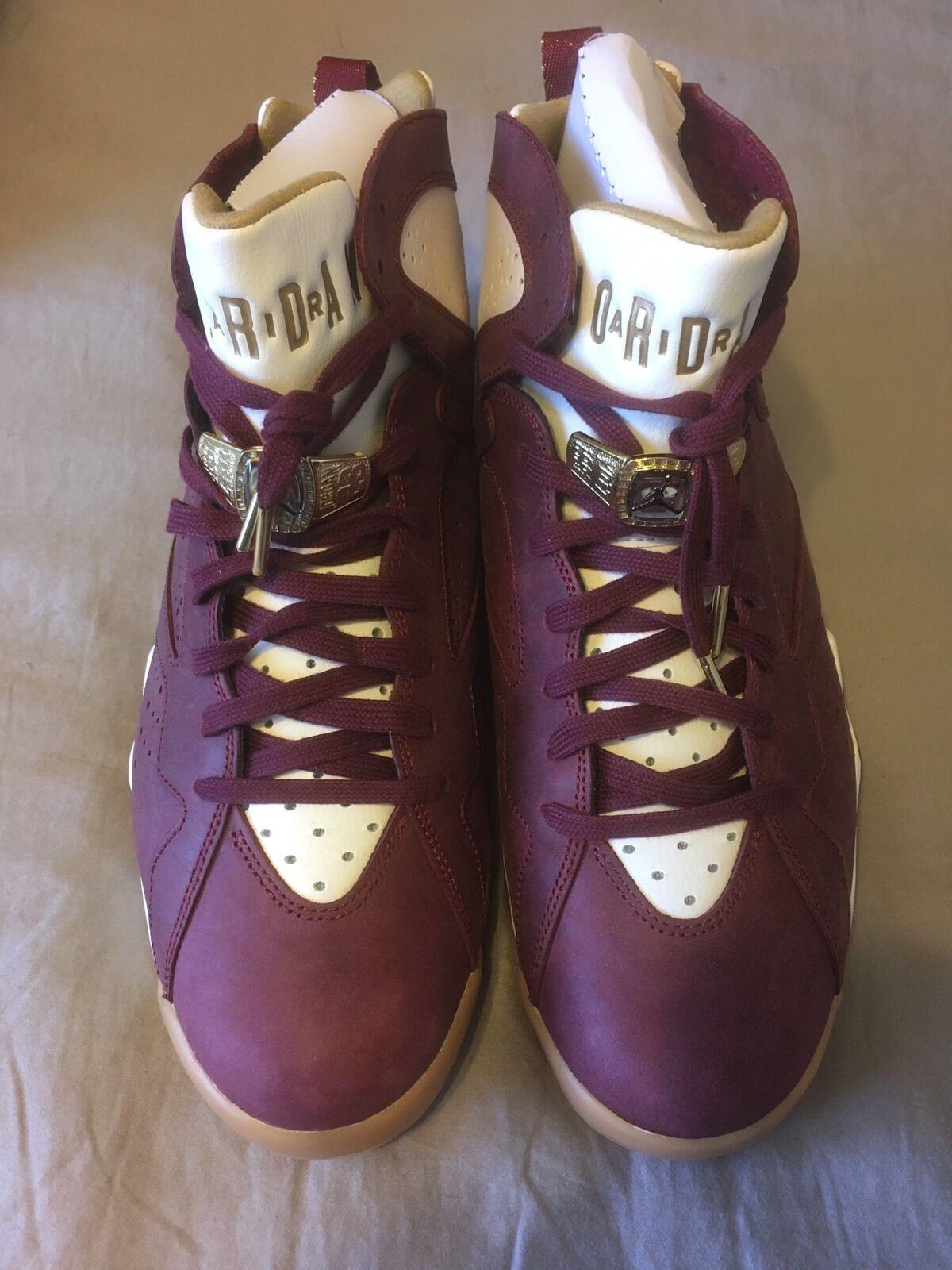 Nike Air Jordan 7 VII Retro (Cigar) - Men's US12 - 100% Authentic 725093-630