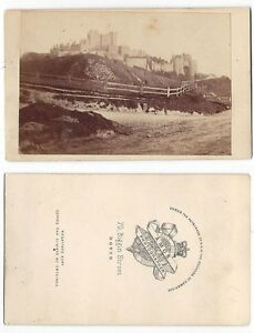 Image Is Loading CDV View Of Dover Castle Carte De Visite