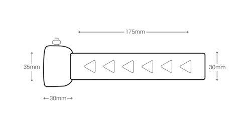 Universal Motorcycle Exhaust Can Muffler Baffle DB Killer Silencer 35mm CUSTOM