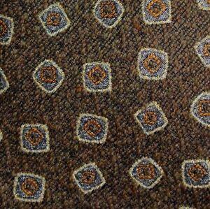 Brown-Orange-Wool-Viscose-Tie