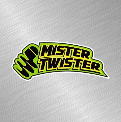 Mister Twister Vinyl Decal Sticker Fishing Lure Rod Reel Tackle Bass Boat Bait