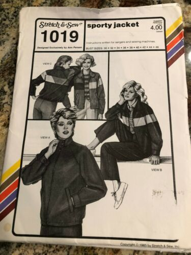 Your Choice Of Vintage Stretch And Sew Patterns Womens Sportswear Blouses UNCUT