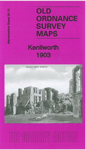 OLD ORDNANCE SURVEY MAP KENILWORTH 1903 MALTHOUSE LANE KNOWLE HILL STATION ROAD