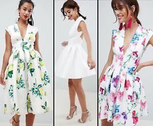 ASOS-DESIGN-113-Scuba-Seamed-Open-Back-Midi-Dress-Lemon-Botanical-White